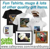 Marshbunny Cafeppress Gift Shop